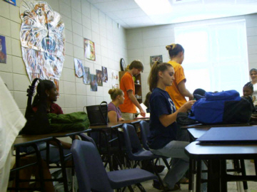 first period - acc. english IV. the guy in the orange shirt - yep, thats zack.